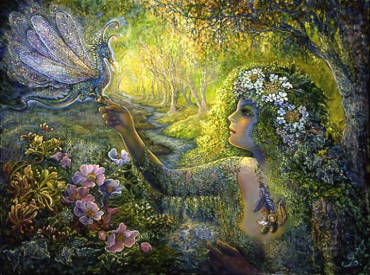 The Dryad and the Dragonfly