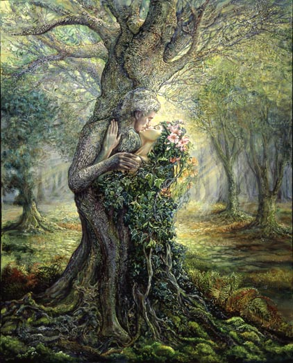 Dryad and the Treespirit