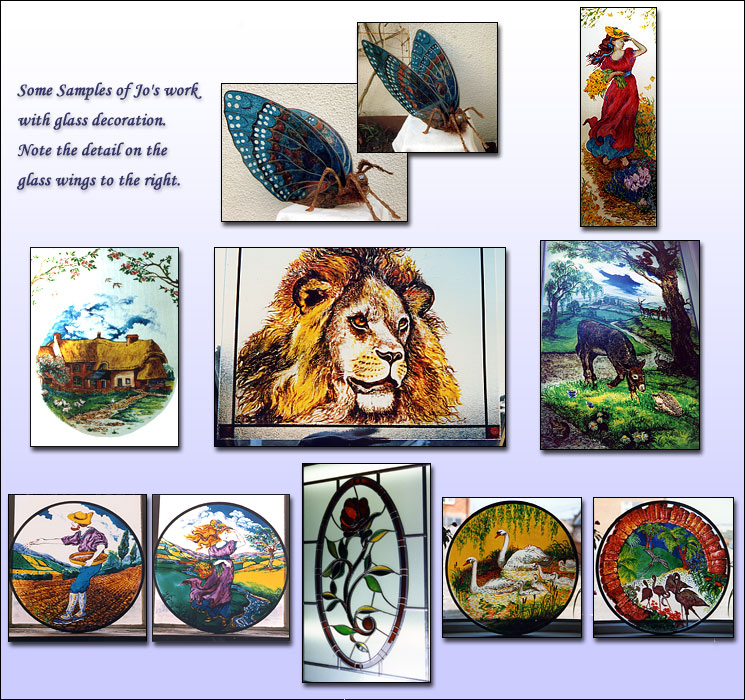 Stained glass examples